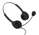Aurora Noise Canceling Steel Tube Binaural Headset